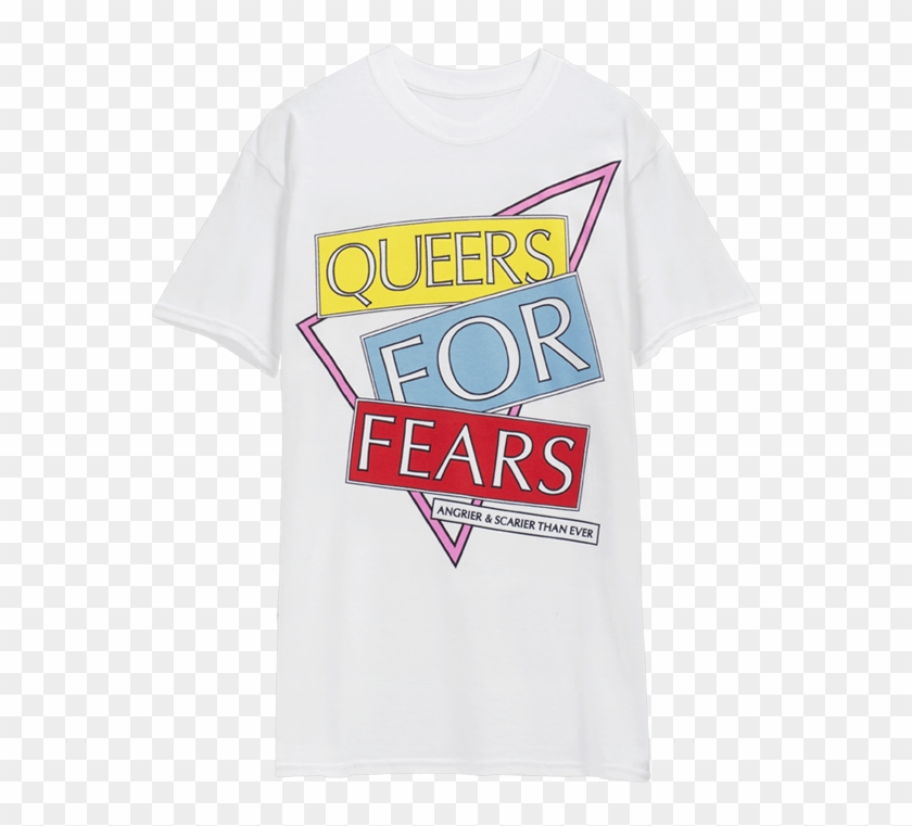 Queers For Fears T-shirt - Active Shirt Clipart #2524539