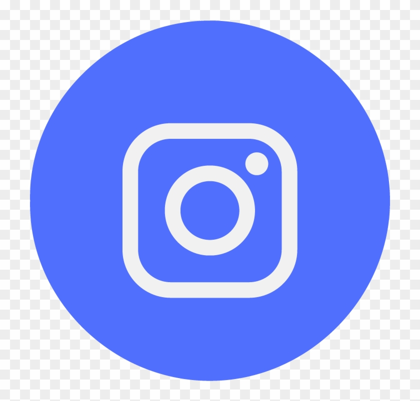 Icon-2083456 Ig - Facebook Twitter Instagram Circle Icons Clipart #2524974