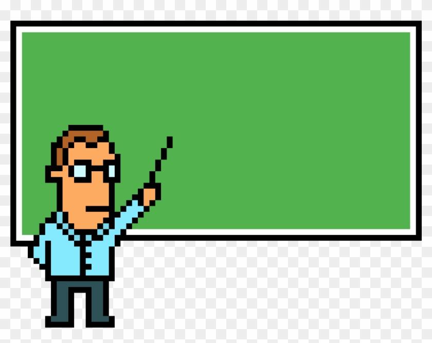 Profesor Pixel Art - Professor Pixel Art Png Clipart #2538237