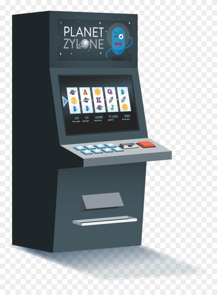 Genie Pokie Machine - Vending Machine Clipart #2545137