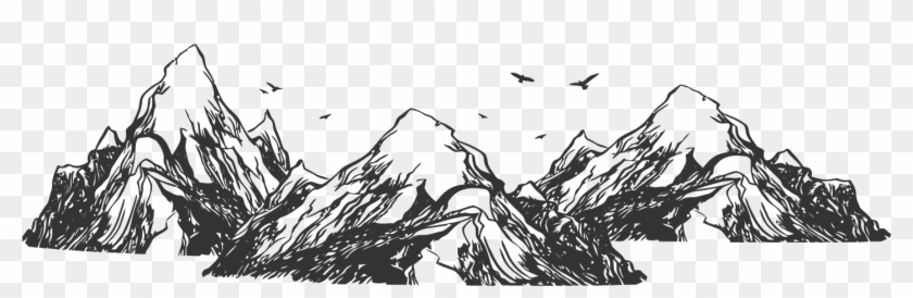 Tree Drawing Mountain Chinese Mountains Png Clipart 2545411 Pikpng