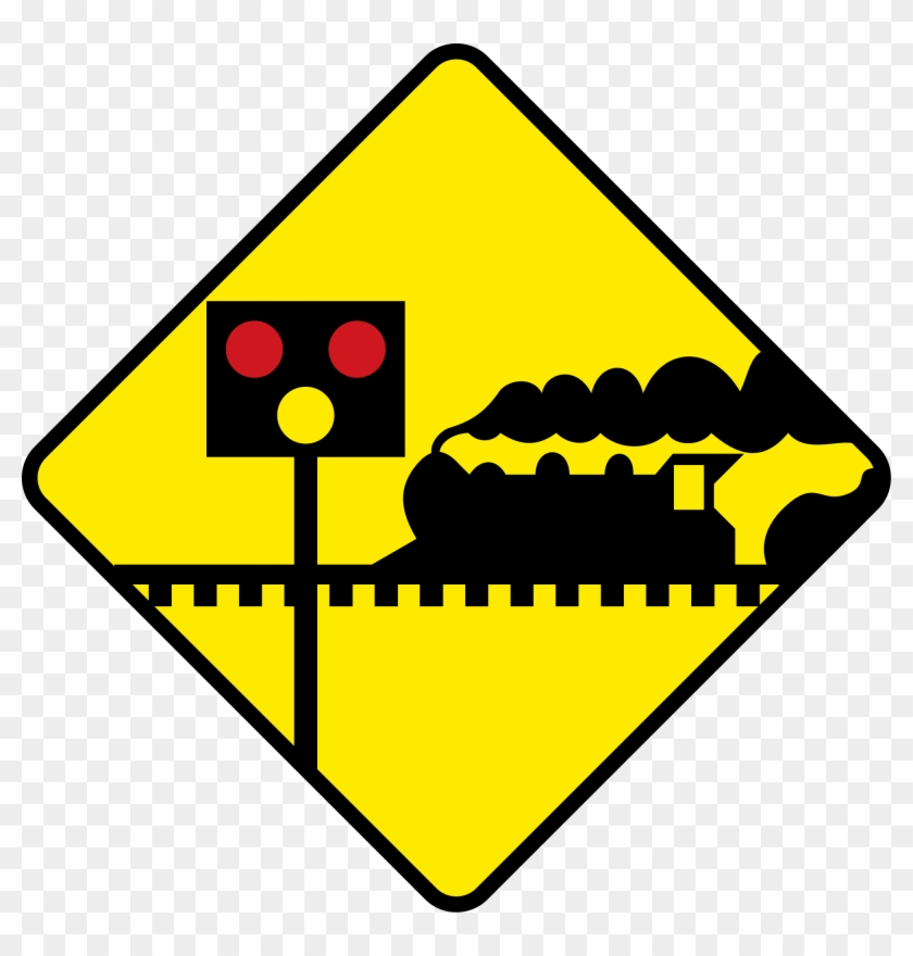 Warning Signs, Gd, Symbols, Collection, Licence Plates, - Road Sign With Car Clipart #2547505