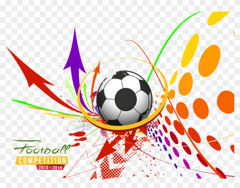 Vector Poster Football Sport Sports Free Transparent Background Abstract Football Vector Png Clipart 2548118 Pikpng