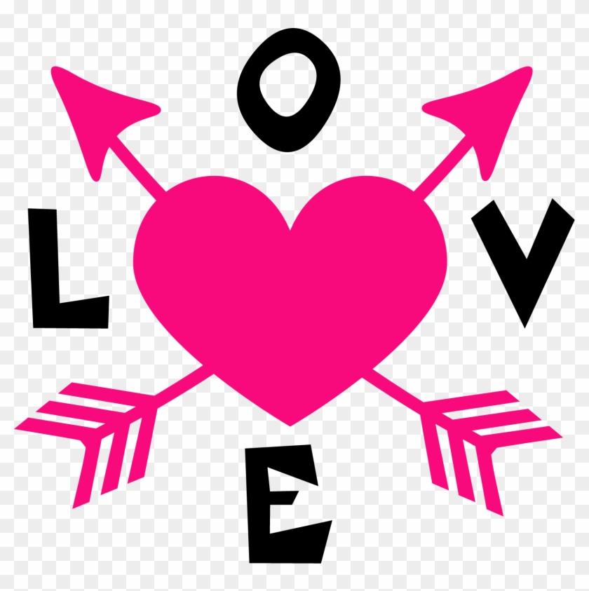 Love Arrow Clipart #2557432