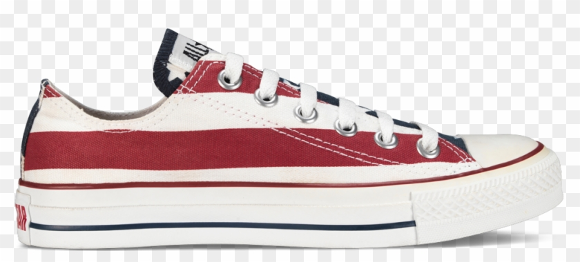 Converse Oxford All Star American Flag , Png Download - Chuck Taylor All-stars Clipart #2566785