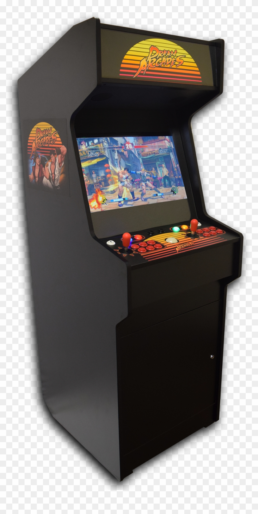 Dreamcade Fighter Edition - Street Fighter Games Arcade Clipart #2568074