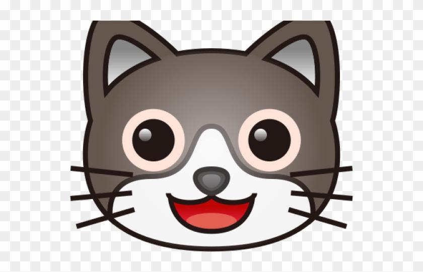 Emoji Clipart Cat - Heart Eye Cat - Png Download #2568777