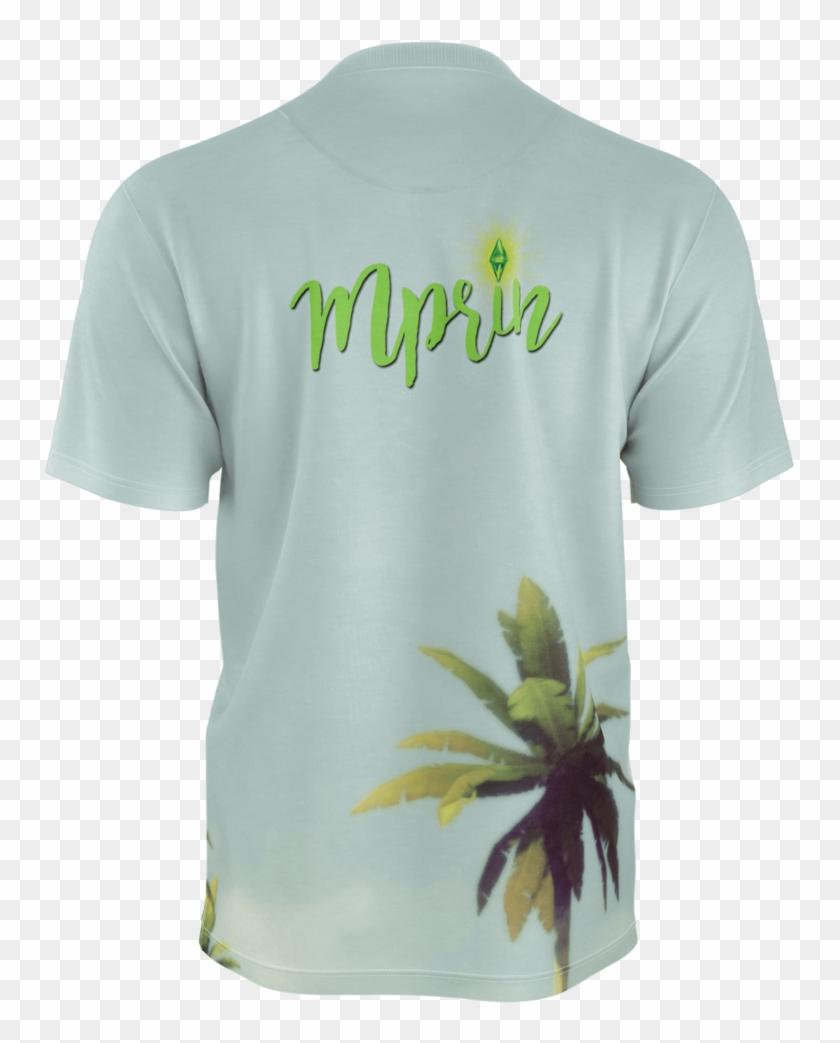 Camiseta Palmeras Chico Mprin - Active Shirt Clipart #2577051