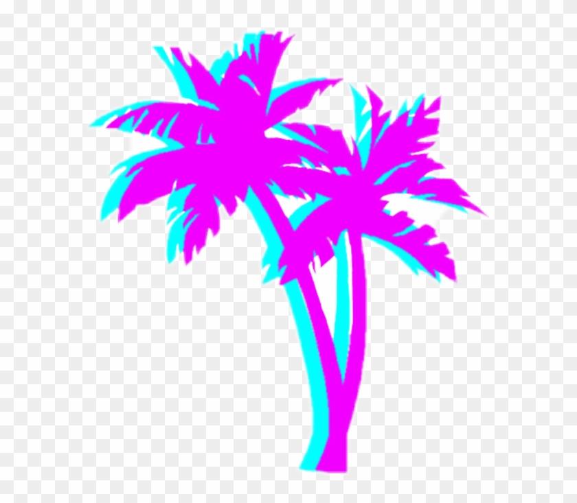 Palm Tree T Shirt Clipart #2577056