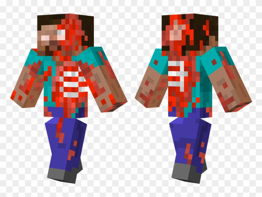 Steve Zombie Minecraft Skins Zombie Steve Clipart 2578588 Pikpng