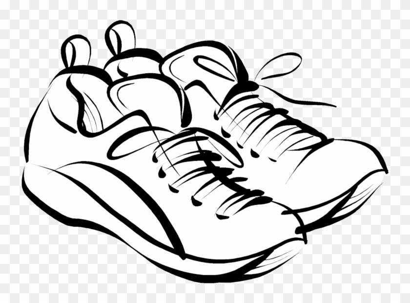 Png Royalty Free Stock Track Shoe Running Shoes Wikiclipart - Rest Day No Running Transparent Png #2586459