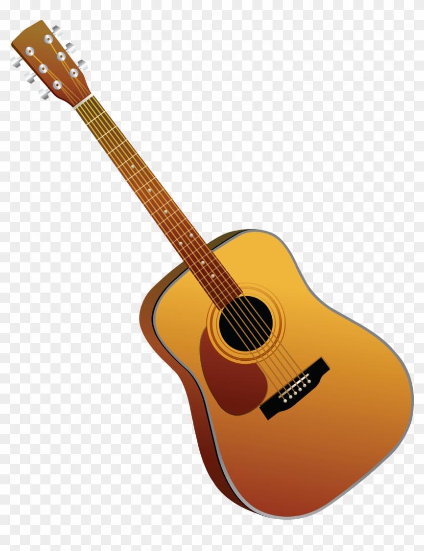 Guitar Clipart Transparent Acoustic Cartoon Guitar Png 2587118 Pikpng