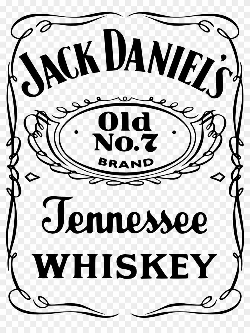 Jack Daniels Bottle Silhouette - Shefalitayal With Regard To Blank Jack Daniels Label Template