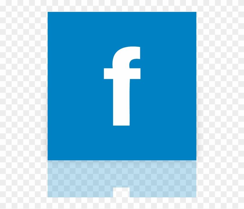 Facebook, Alt, Mirror Icon - Cross Clipart #262541