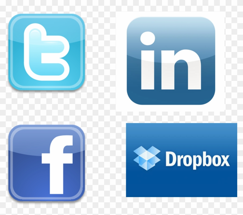 Twiter Linkedin And Icon &ndash Free Icons - Facebook And Instagram Logo Together Clipart #262803