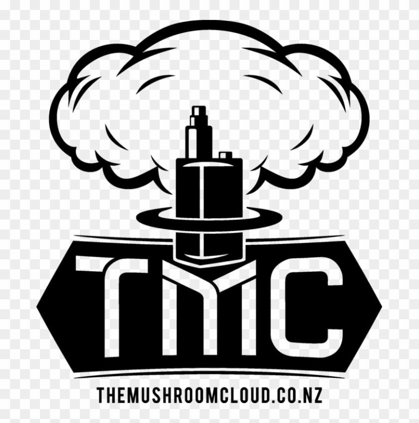 The Mushroom Cloud - Logo De Vape Png Clipart #263418