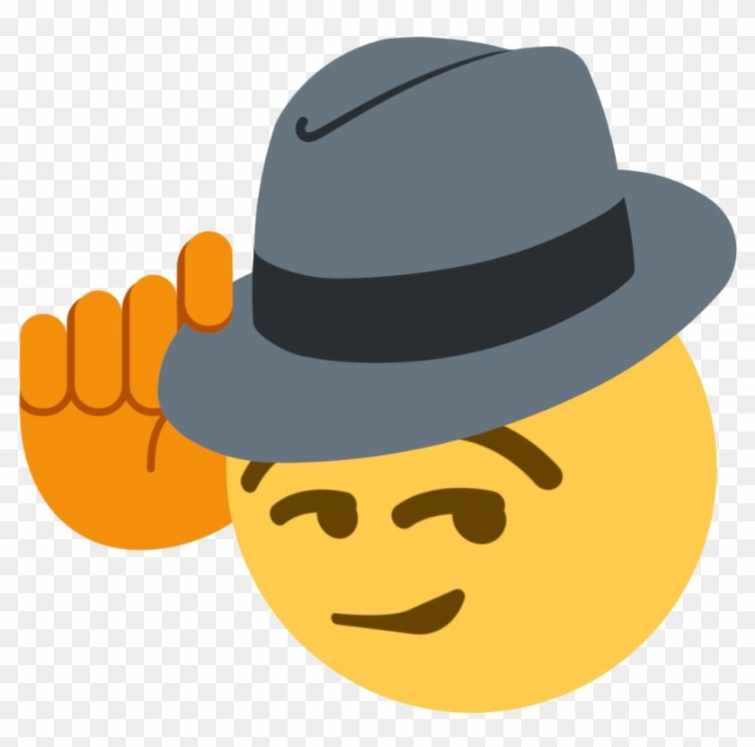 Tips Fedora Discord Emoji - Fedora Tip Emoji Discord Clipart #264630