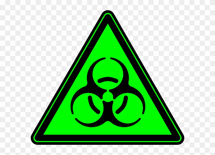 Biohazard Symbol Clipart Official - Radioactive Symbol Green Png Transparent Png #265480
