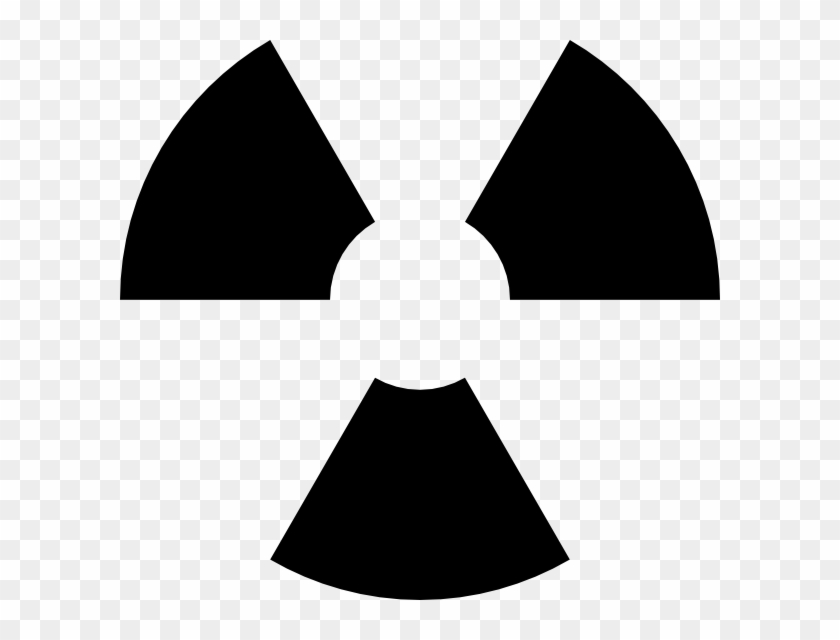 Biohazard Symbol Clipart Nuke - Radioactive Icon Png Transparent Png #265590