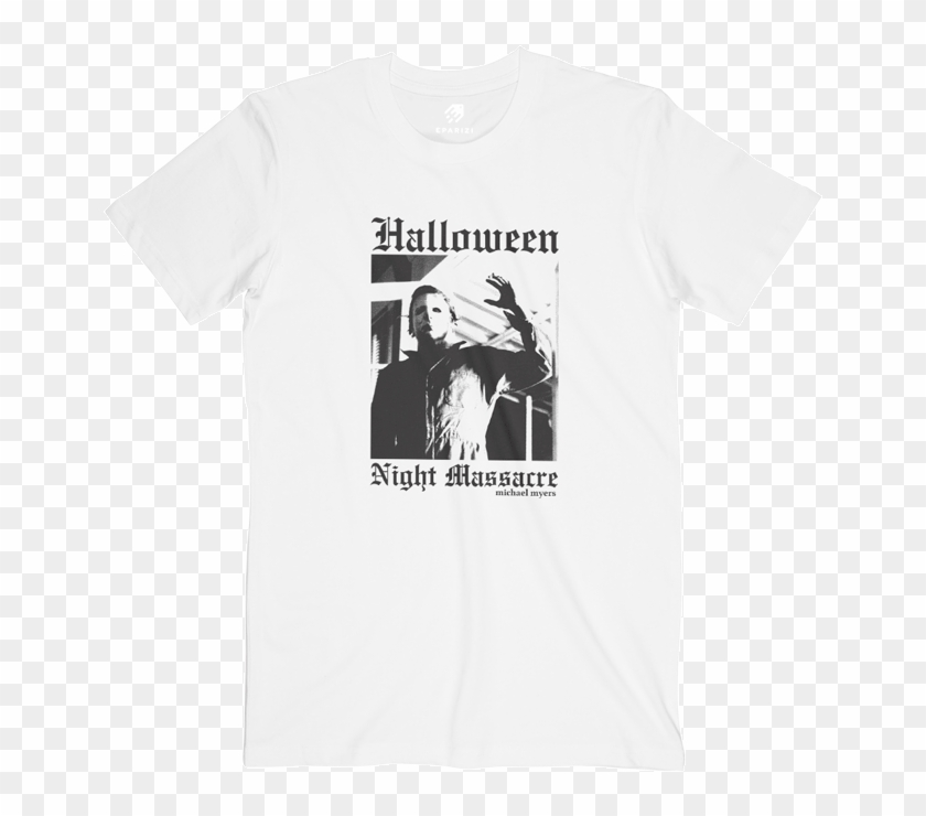 Halloween Michael Myers T Shirts Graphic Tees - T Shirt Rage Against The Machine Clipart #265593