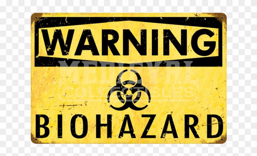 Warning Sign Transparent Biohazard Clipart #266316