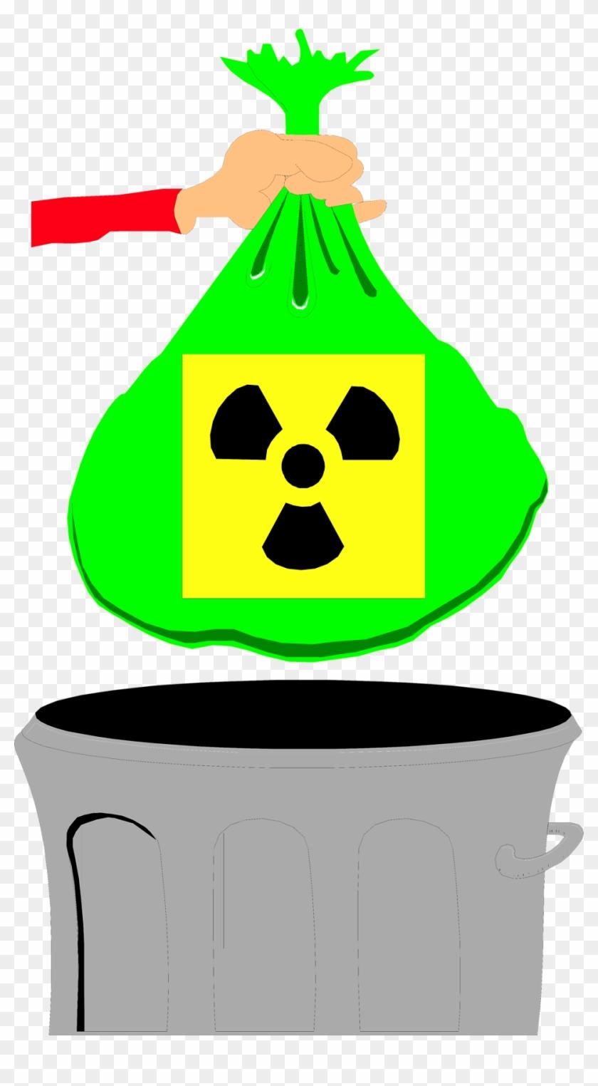 Biohazard Symbol Clipart Infectious Waste - Clip Art Hazardous Waste - Png Download #266517
