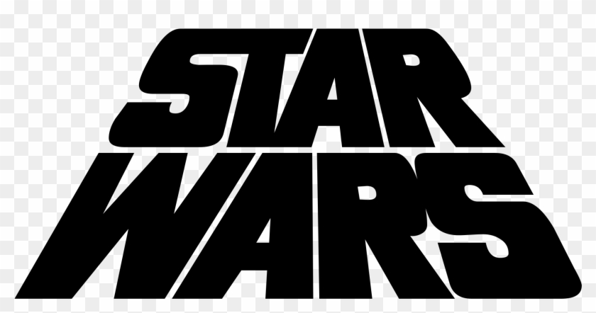 Star Wars Png Black And White Transparent Star Wars Star Wars 1977 Logo Png Clipart 268506 Pikpng