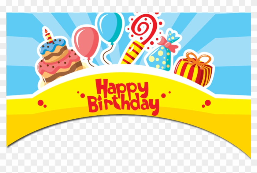 Happy Birthday Frame Png - Happy Birthday Wishes Frame Clipart #268815