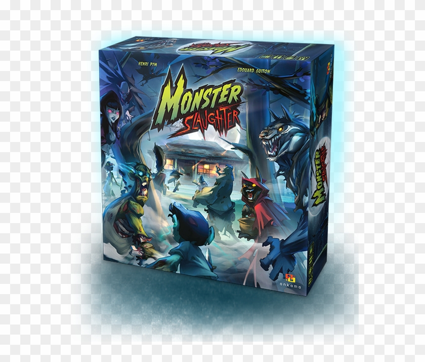You'll Have To Hunt Down And Slay Insufferable Teens - Monster Slaughter Board Game Clipart #2600915