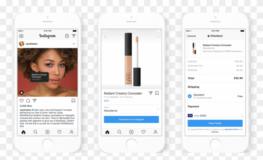 Instagram Will Let Influencers Add Shopping Tags To - Iphone Clipart #2605169