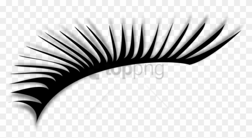 Free Png Eye Lashes Png Images Transparent - Clipart Eye Lashes Png #2610092