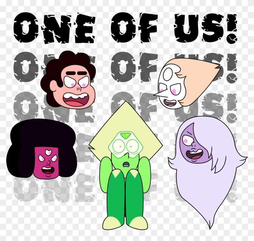 One Of Us Steven Universe Clipart #2612321