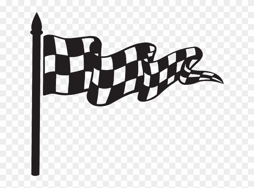Race Flag Car Start Win Checkered Race Bendera Start Png Clipart 2615510 Pikpng