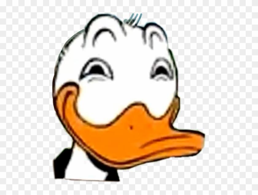 Donaldduck Disney Funny Meme Memes Freetoedit - Donald Duck Meme Png Clipart #2623913