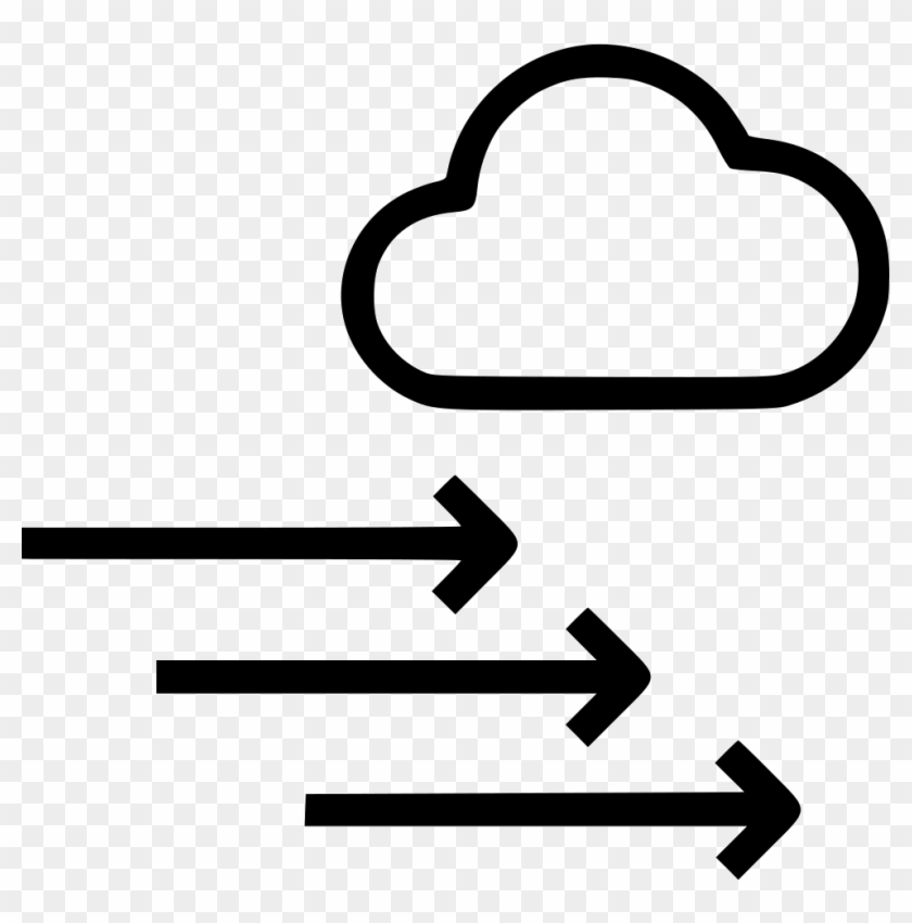 Arrow Png Wind - Weather Air Pressure Icon Clipart #2633913