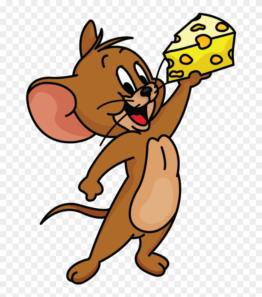 Shocking Tom And Jerry Cartoon Images To Draw How The - Jerry Mouse Clipart #2634778