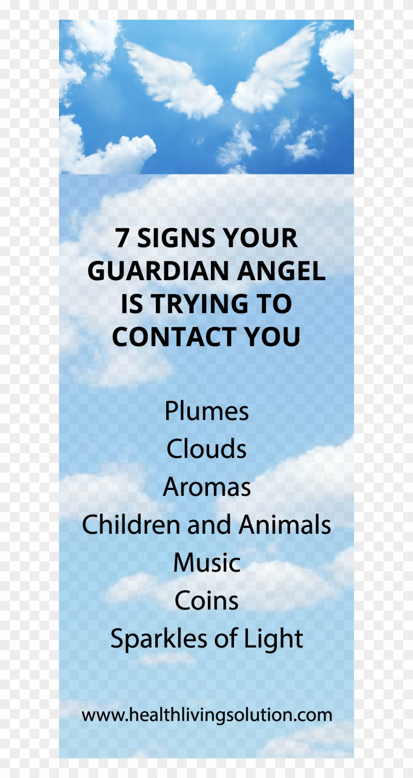 Guardian Angel Is Near - Signs Your Angel Is Near Clipart #2642557