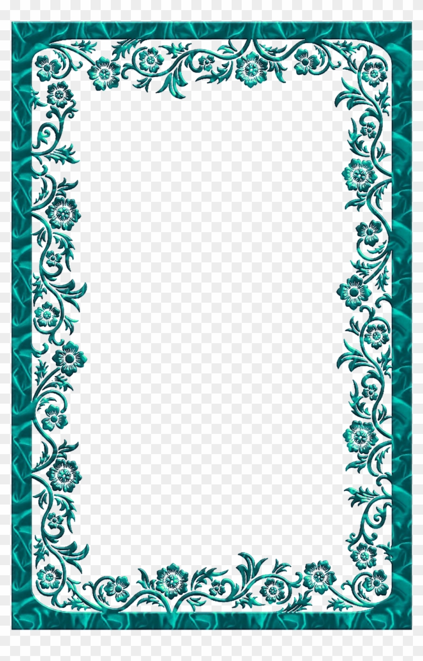 View Full Size - Borders And Frames Dark Blue Clipart #2646109