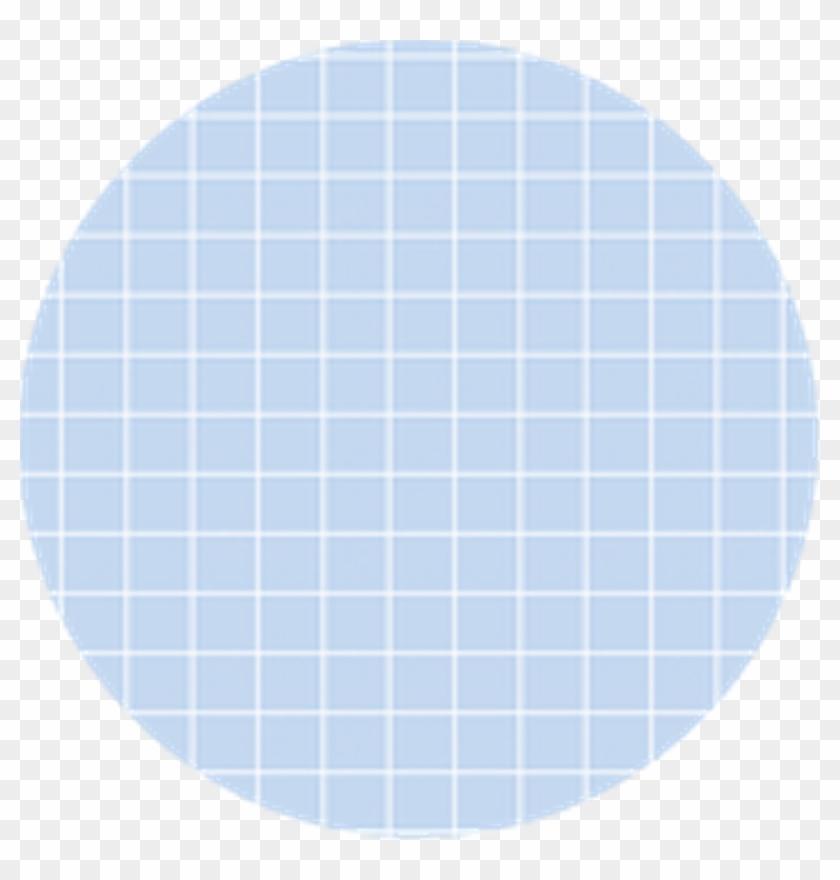 Blue Grid Aesthetic Circle Beautiful Sticker Art Bangt Circle Clipart 2647000 Pikpng