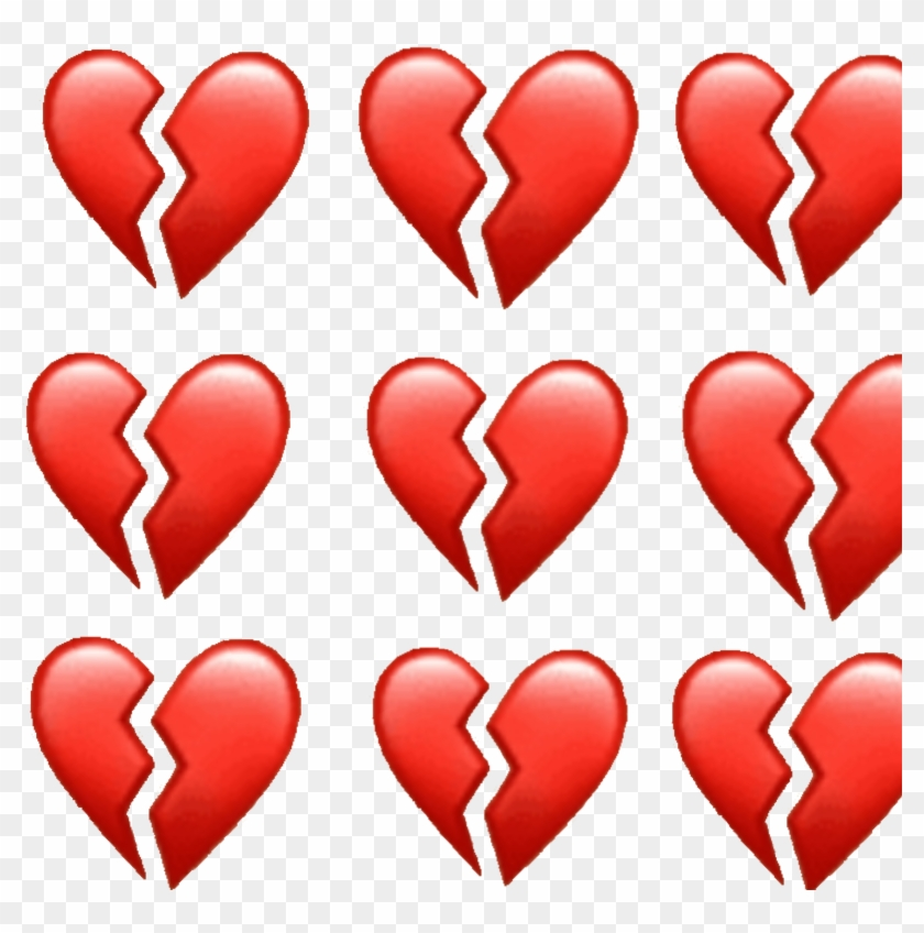 Heart Hurt Feels Heartbreak Emoji Broken Broke Brokenheart - Heartbreaking Emoji Clipart #2651262