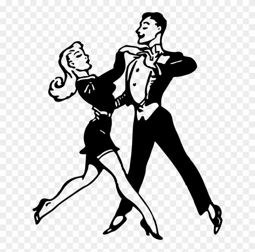 Black Dance Cliparts Dancing Clip Art Black And White Png Download 2655585 Pikpng