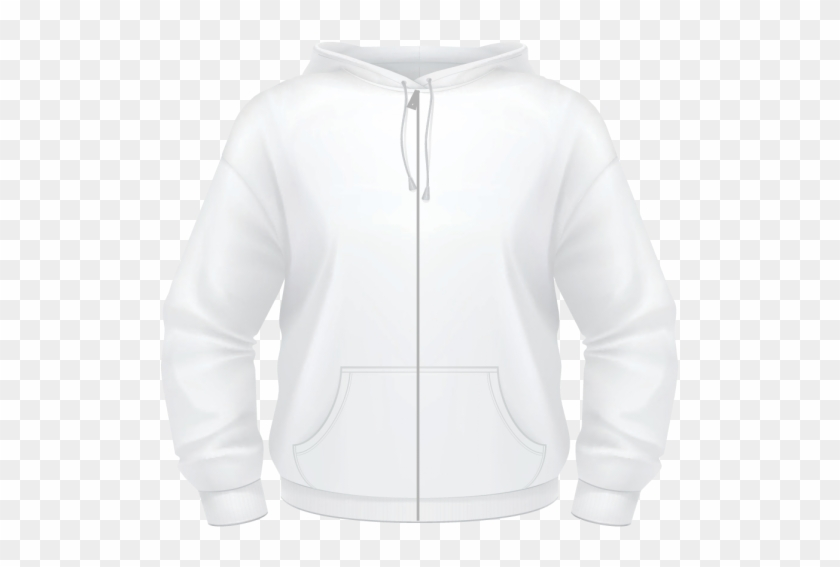 Plain White Long Sleeve T Shirt Back Clipart #2656115
