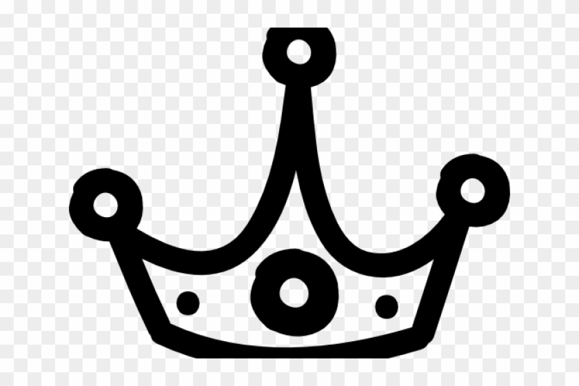 King Clipart Outline - Crown Hand Drawn Png Transparent Png #2661868