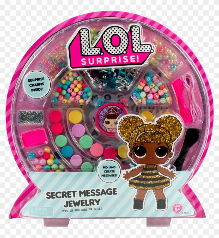 Lol Surprise Secret Message Jewelry Pkg - Lol Secret Message Jewelry Clipart #2666531