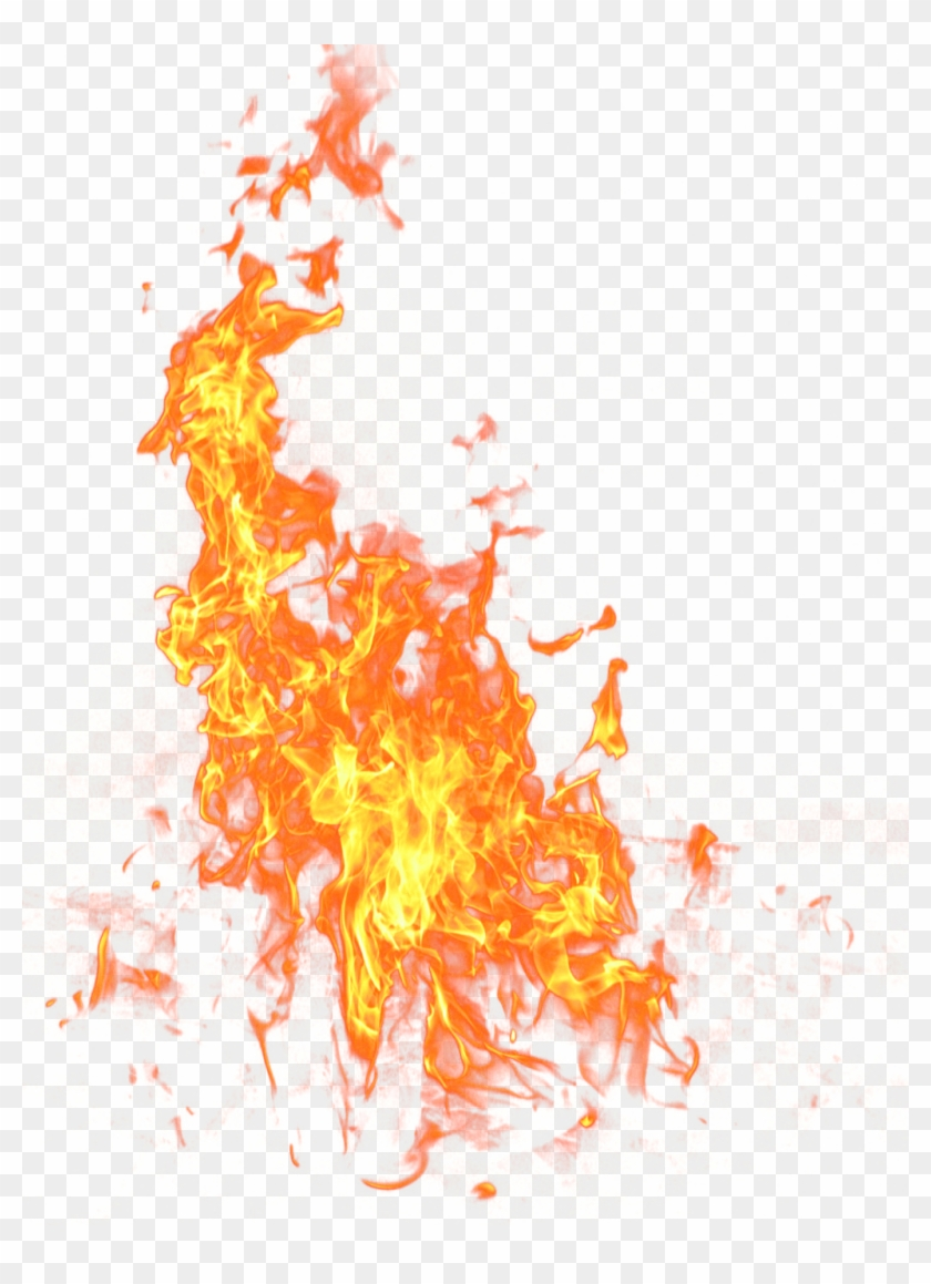 #chamas #flames #real #fire #fogo #effect #efeito @lucianoballack - Transparent Fire Png Clipart #2673374