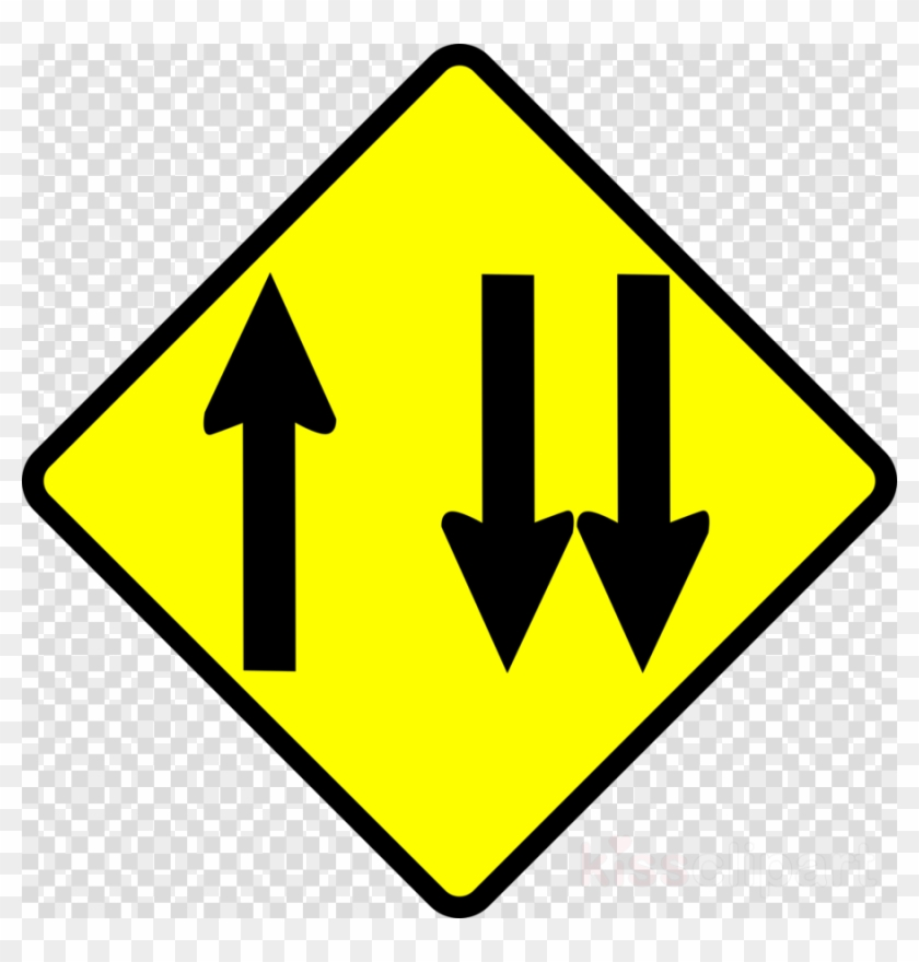 Download Two Arrow Sign Meaning Clipart Traffic Sign - St Patricks Day Shamrock Clipart - Png Download #2680557