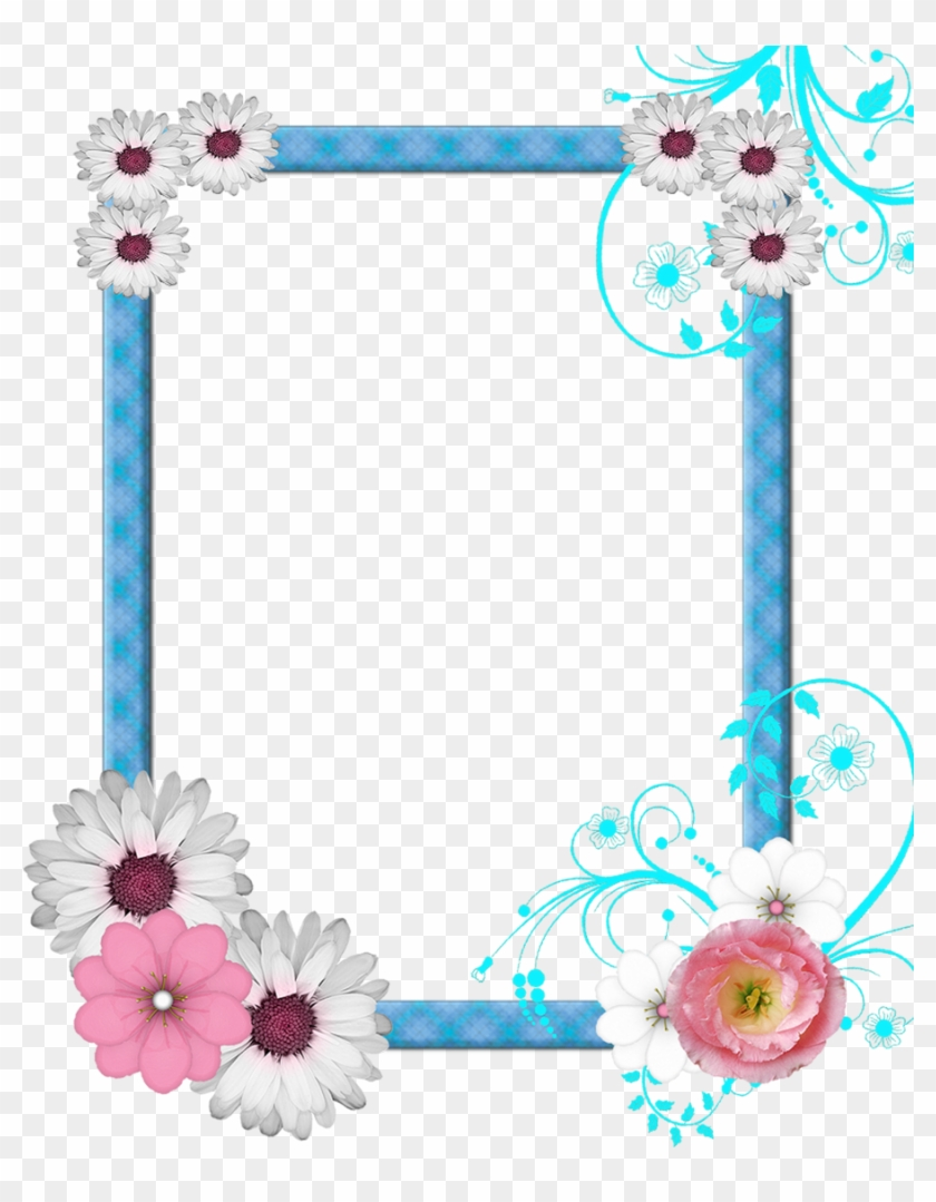 Free Pictures Photo Icons And Png Ⓒ - Flowers Borders Clipart Png Transparent Background #271872