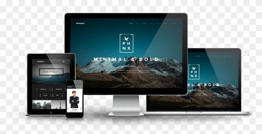 2017 Naxos Advertising - Responsive Web Design Clipart #271948
