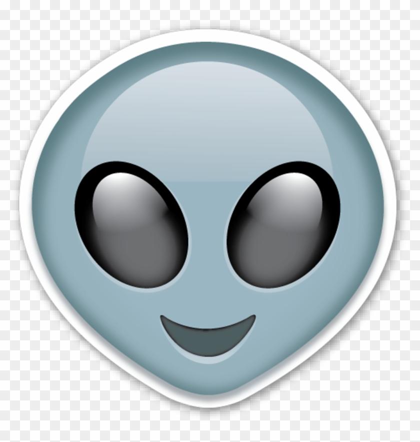 Alien Emoji Source - Alien Iphone Emoji Clipart #272211
