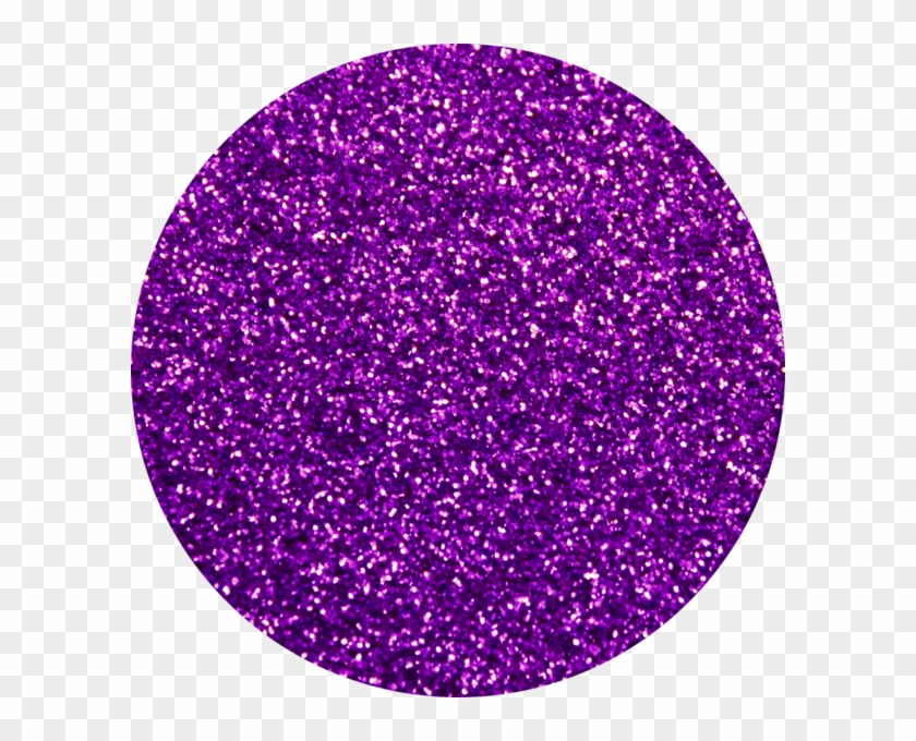Purple Glitter Circle Clipart #274208